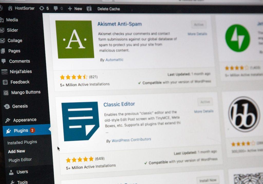 5 plugins indispensables pour votre site Wordpress
