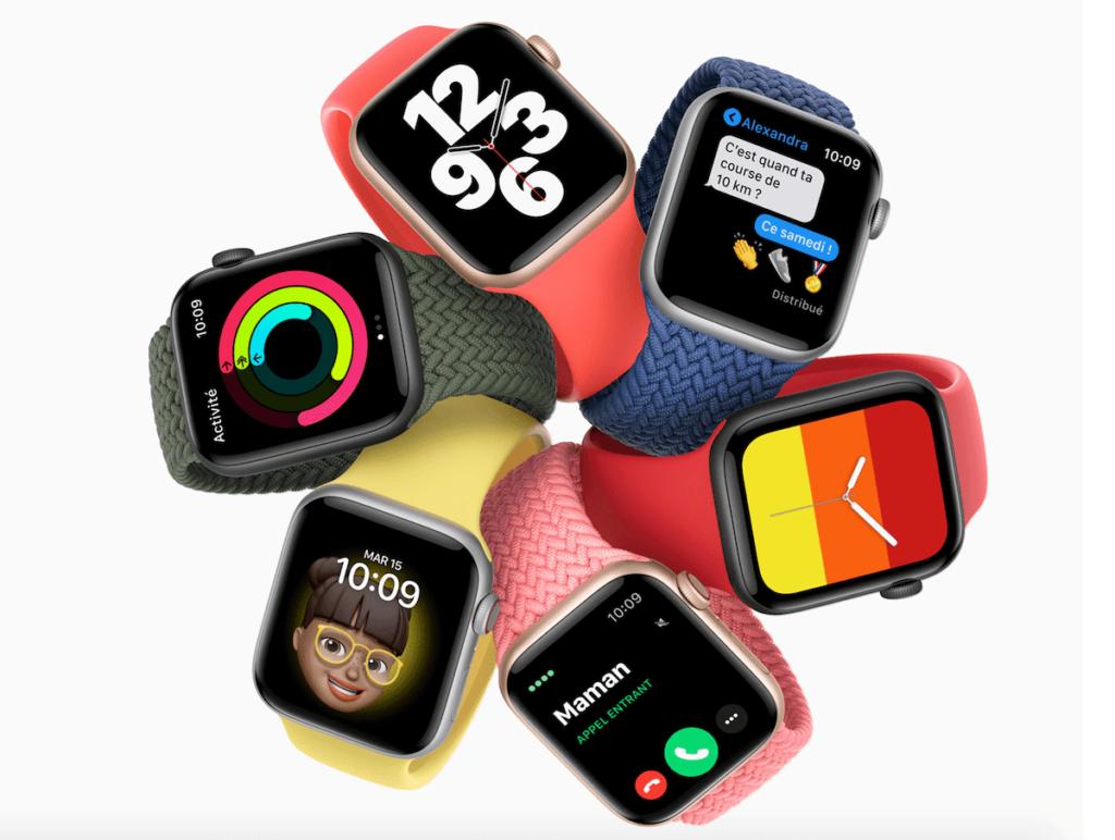 apple watch se et apple watch series 6