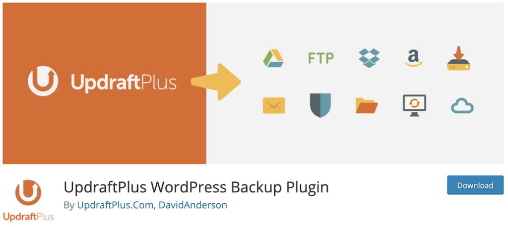 updraftplus plugin de sauvegarde wordpress